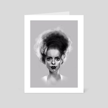 Bride Of Frankenstein - Art Card by Yuki Takahashi