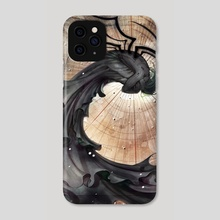 Macula Lutea - Phone Case by Sara Cuervo