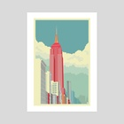 5th Avenue New York City - Art Print by Remko Gap Heemskerk