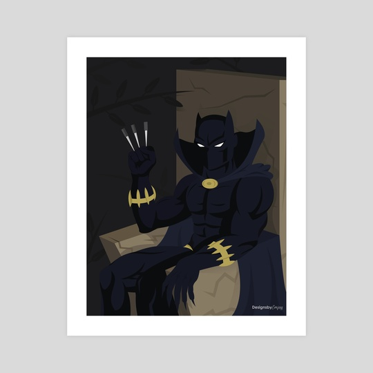Black Panther by Matthew Johnson