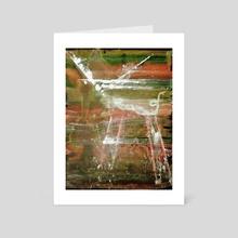 WDVMM - 0082 - Horn and Hoof - Art Card by Wetdryvac WDV