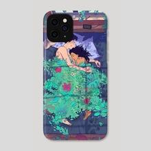 Green Blanket - Phone Case by Antoine  Doré