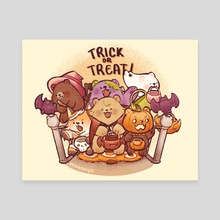 Trick or Treat!! - Canvas by Sayuupi