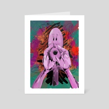 Call - Art Card by Ole Nørholm