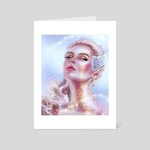 Golden Tattoo - Art Card by Sandra Winther