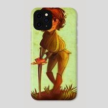 Arya and Needle - Phone Case by Kallie LeFave