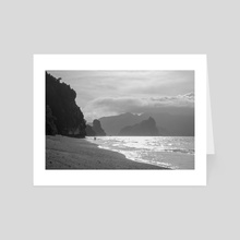 Depth beach - Art Card by Rémy