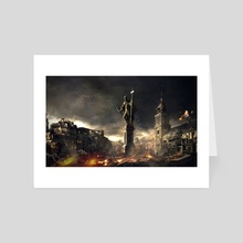 Fall of Warsaw - Art Card by Mai Anh Tran