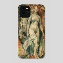 """Botticelli Angel~The Red Wing of Betrayal"" Dan Zollinger 2019 - Phone Case by Dan Zollinger"