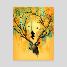 Playmate - Canvas by Nicebleed