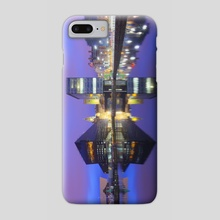 Dockland  Reflections - Phone Case by Michael Walsh