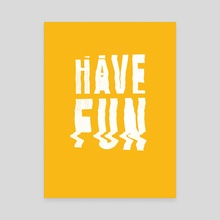 Have fun #2 - Canvas by Aleksandr Gusakov