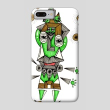 10FACE - Phone Case by Boatsak Sathianrat