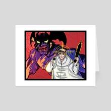 Devilman - Art Card by Kathaleanie