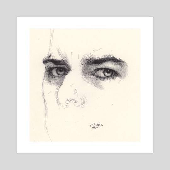 Hard Stare by Gabriela Handal