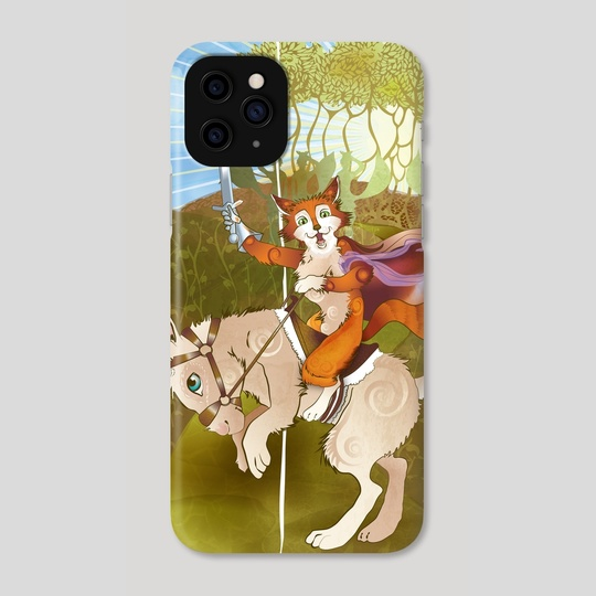 Robin Hood Fox by Wendy Martin Art
