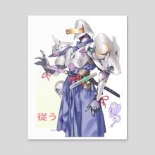 Samurai Order - Acrylic by Mony Pich