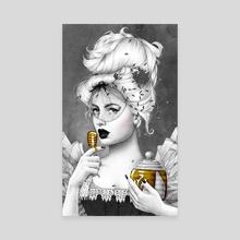 Queen Bee 2 - Canvas by Morgan Davidson