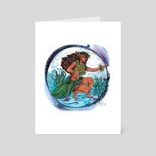 Hina Hine - Art Card by Hannah Maria