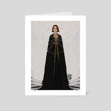 Natalie - Art Card by Lola Rodriguez