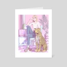 Artemis - Art Card by Lucas de Francescco Art