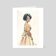 Faerie Princess - Art Card by Chuck Grieb