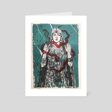 Cleopatra - Art Card by Lucy Plowe