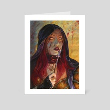 Demon Hunter - Art Card by Francesca Baerald