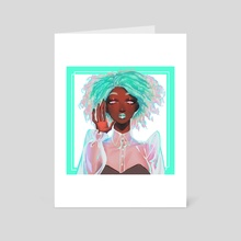 Mint Green - Art Card by OzumiiWizard