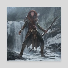 Duels Of The Planeswalkers 2014 - Ramaz - Canvas by Brad Rigney