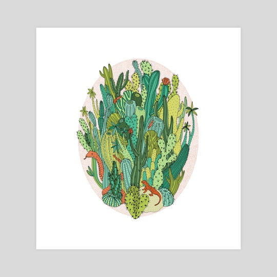 Cacti by Gaby D'Alessandro