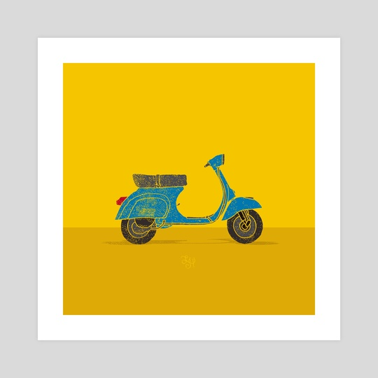 Vespa by LeftHandedGraphic