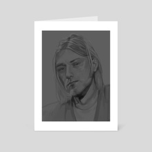 Kurt - Art Card by Anjaly Valdez