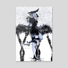 Fairy - Acrylic by Lin Yah