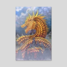 Huang He River Dragon - Acrylic by Cerid Ellis