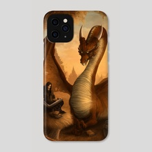 The Dwellers of the Red Forest - Phone Case by Kerem Beyit