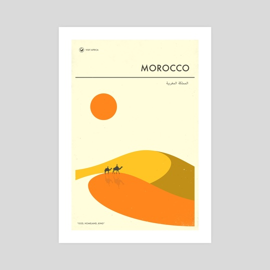 Morocco by Jazzberry Blue