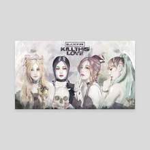 Blackpink KTL - Canvas by Ant