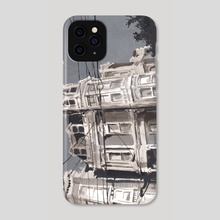 Hayes & Buchanan 005 - Phone Case by Christian MacNevin