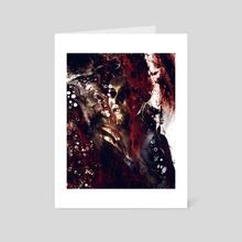 Die My Will - Art Card by Kenneth Albert
