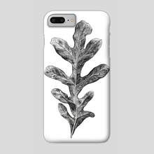 Watercolor leaf - Phone Case by Nika
