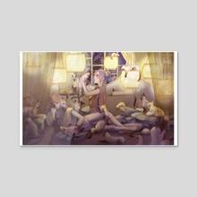 The Siam Kingdom - Acrylic by Risu Risu