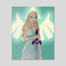 Zelda - Acrylic by Shea B