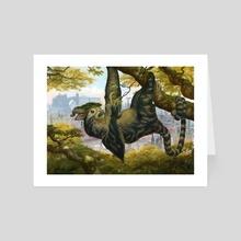 Arboreal Graze - Art Card by Jason Rainville