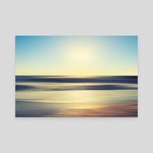Abstract sunset - Canvas by Svetlana Dikhtyareva