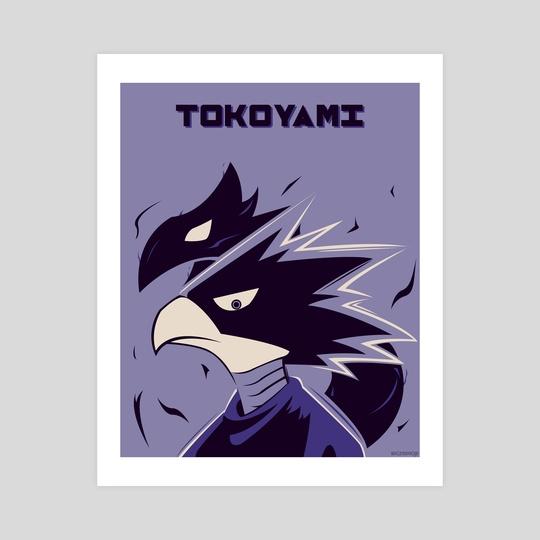 Tokoyami Poster by Kazi Sakib