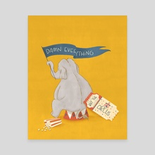 The Circus - Canvas by Christy Mandin