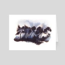 Light study I - Art Card by Paloma Zamorano