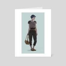 Adventurer - Art Card by alice duke