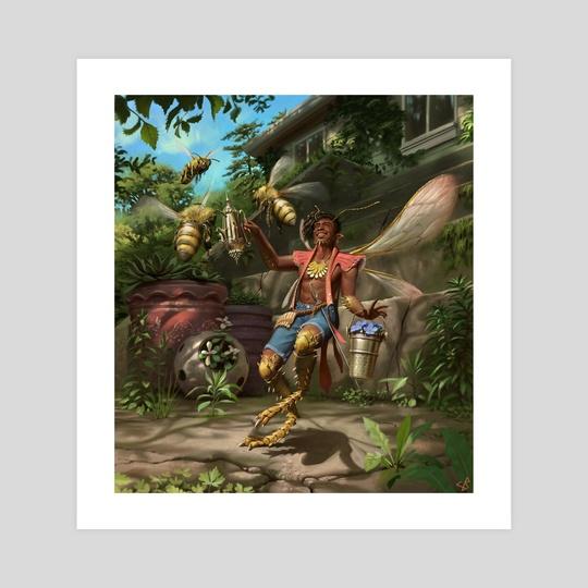 Fairy Beekeeper by Sam Perin